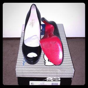 Oh Deer Audrey heels (ala Christian Louboutin)